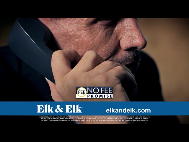 Elk & Elk Injury Law Firm's No Fee Promise